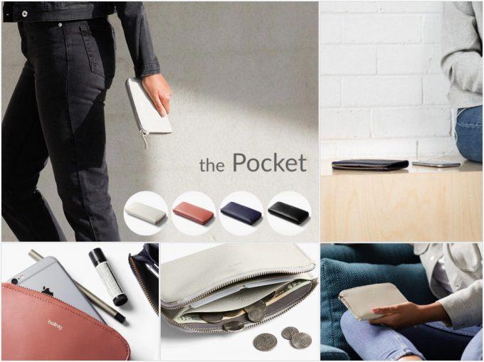ベルロイポケット(Bellroy Pocket)