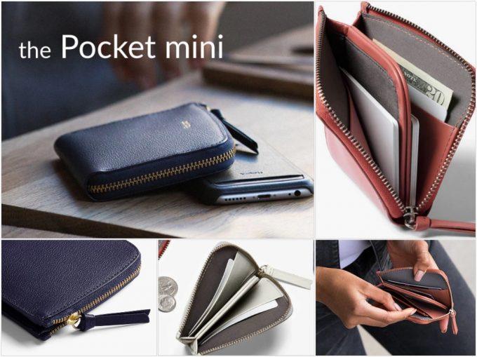 ベルロイポケットミニ(Bellroy Pocket Mini)