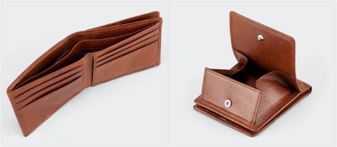アニアリ二つ折り財布