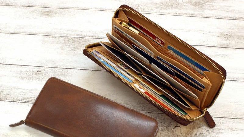 普通よりもカードポケットが多い長財布