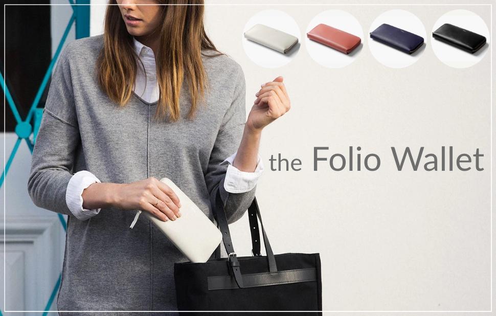 iPhoneが入るレディース財布!ベルロイフォリオウォレット!