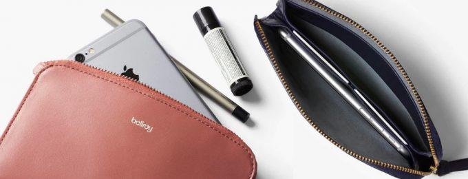 化粧品も入るベルロイのレディースコレクション財布
