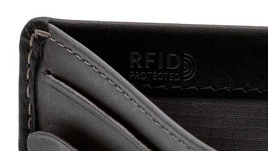 スキミング防止素材RFID文字の箔押しロゴ