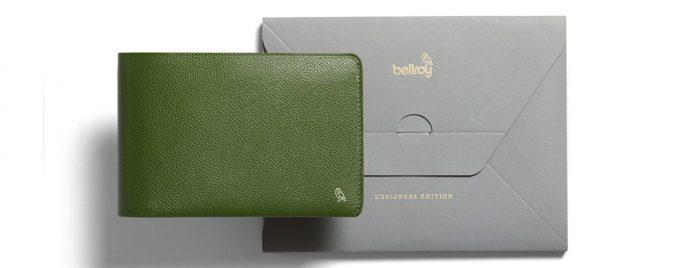 トラベルウォレットデザイナーズエディションの包装パッケージ
