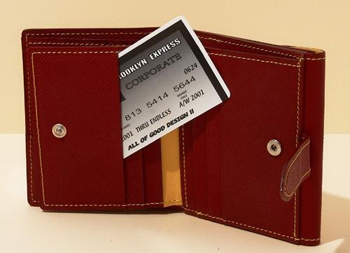 Windsorフレンチカーフパスウォレット(二つ折り財布)