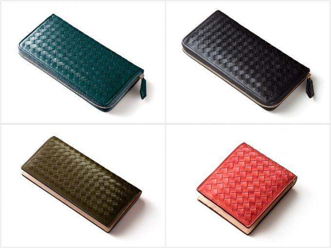 マットーネシリーズの各種類の財布