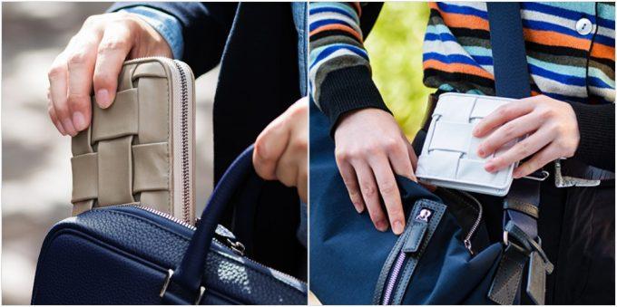 CARRYNESTの各種類の財布