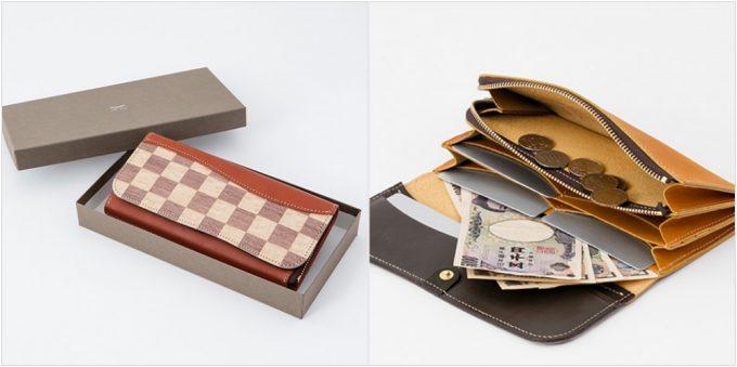 リアルウッドシリーズの各種類の財布