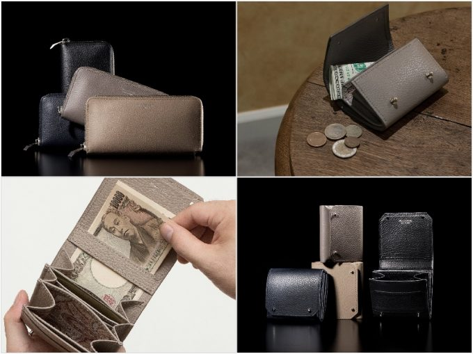 MASAMI TANAKAの各種類の財布