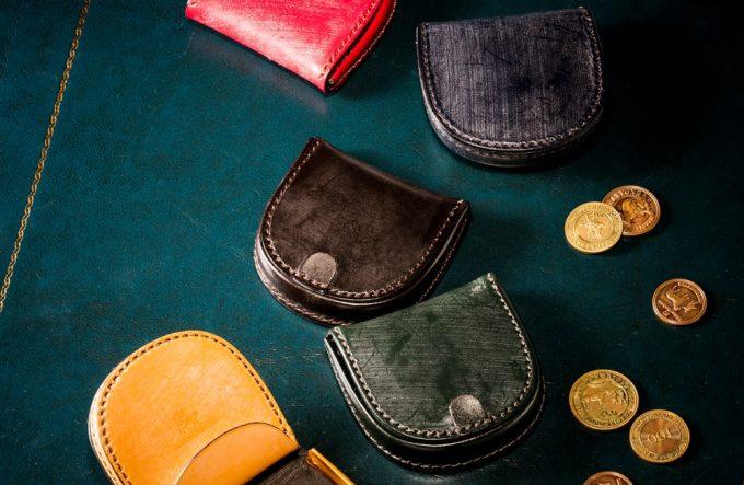 ブライドル馬蹄コインケースの各カラー