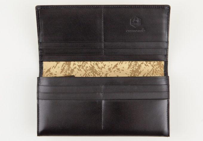 長財布フレイムダンスの収納ポケット