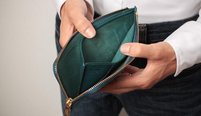 内装の収納ポケット
