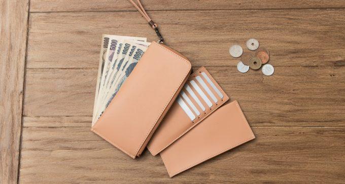 小銭とカードポケット段ケースを外した状態