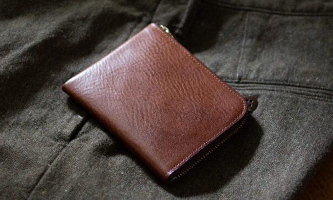 トラモントシリーズのL字ショート財布エッレコルト