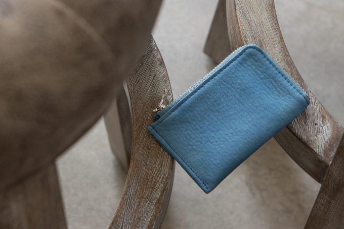 スクモレザーL字ジップカードケース(SUKUMO Leather)