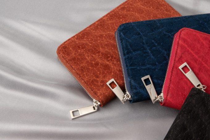 オイルエレファントの革財布