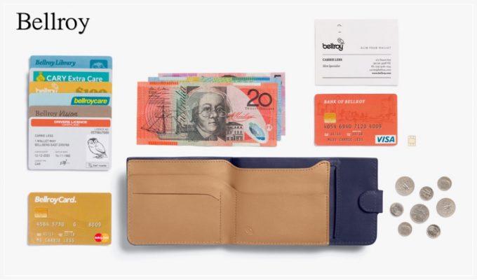 ベルロイ・二つ折り財布