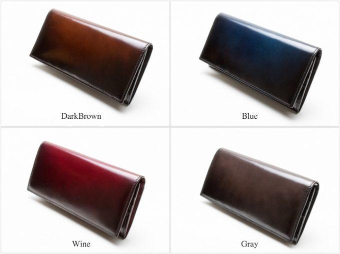 YAC113長財布のカラーバリエーション