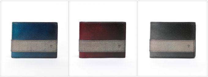 YUHAK・YCD132二つ折り財布のカラーバリエーション