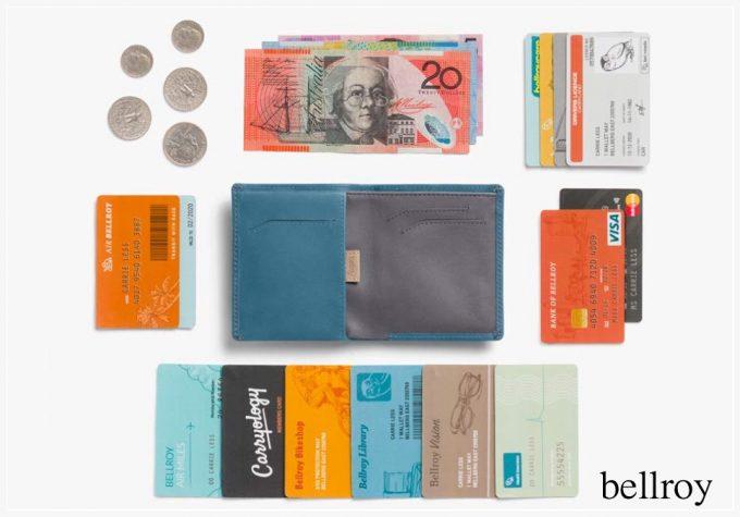 ベルロイ(bellroy)の二つ折り財布