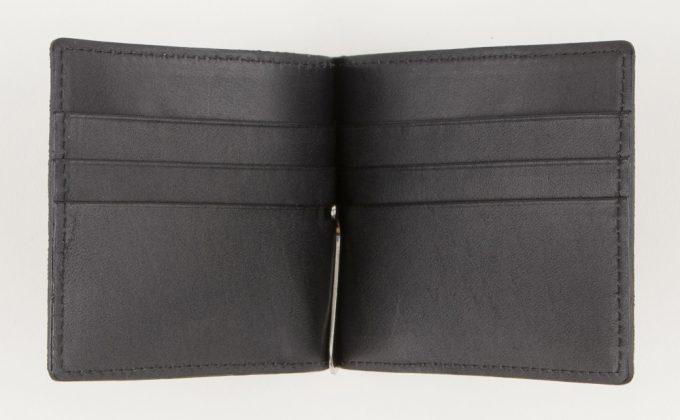 オイルエレファントマネークリップのカードポケット