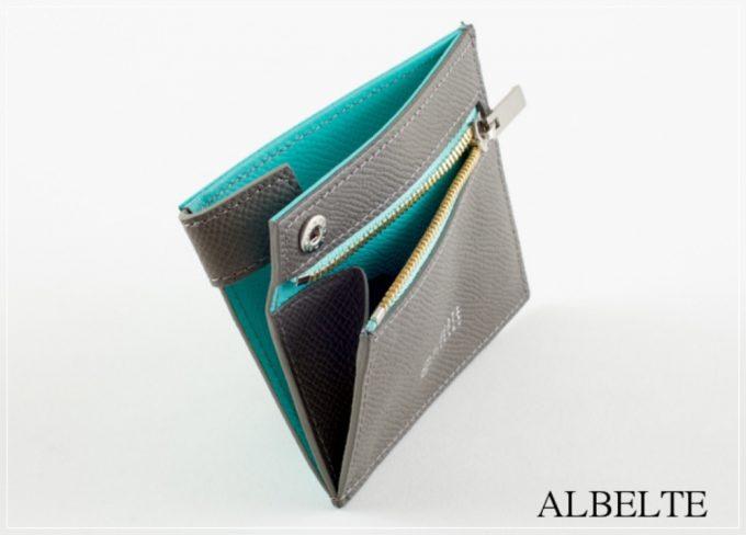 アルベルテのコンパクト二つ折り財布