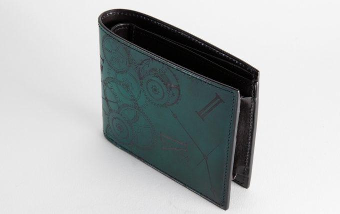 YLW130二つ折り財布(ブロンズカラー)