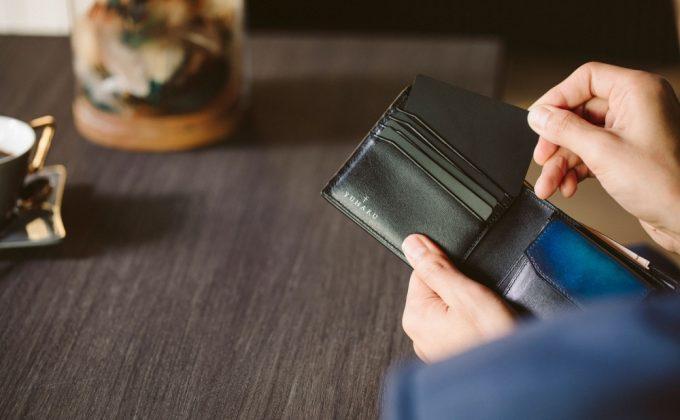 YUHAK・YCD132二つ折り財布の収納ポケット