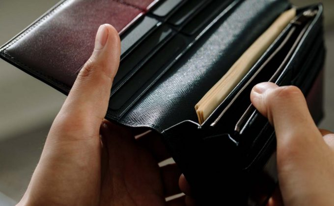 YVP116長財布の札入れポケット