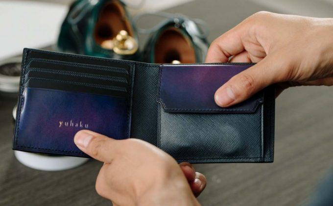 YVP132二つ折り財布