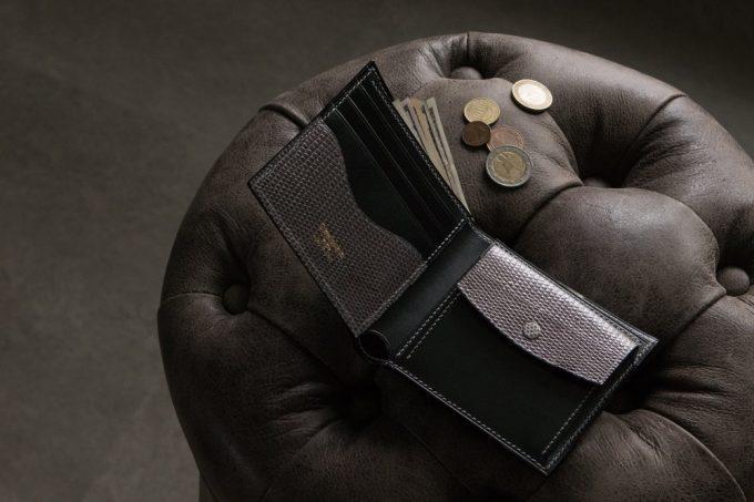 クレバレスコ(Crevaleathco)・ブリランテ×リザードシリーズの財布