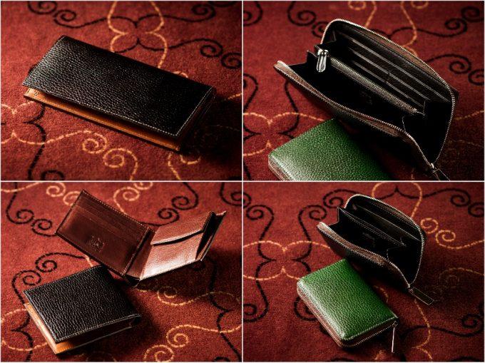 ロッソピエトラシリーズの各財布