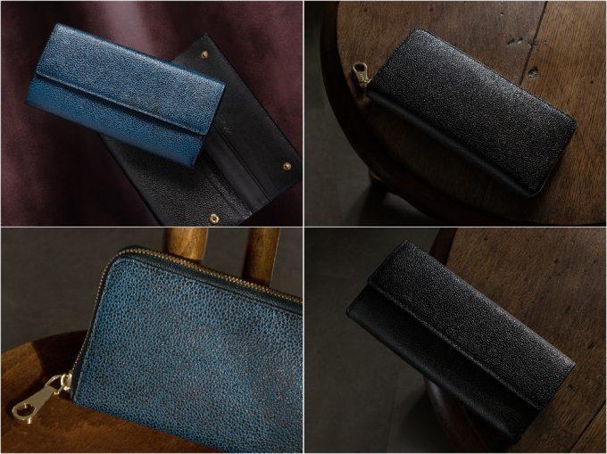 CIMABUEgraceful(チマブエグレースフル)の漆塗りシリーズの財布