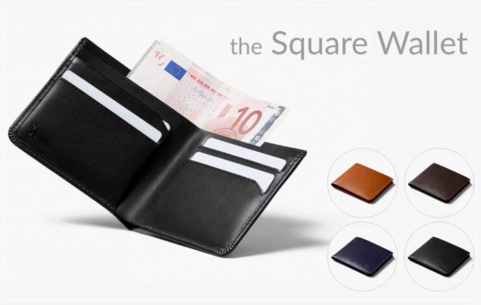 ベルロイ ザ スクエアウォレット(Bellroy The Square Wallet )