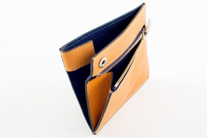 ASB122コンパクト二つ折り財布
