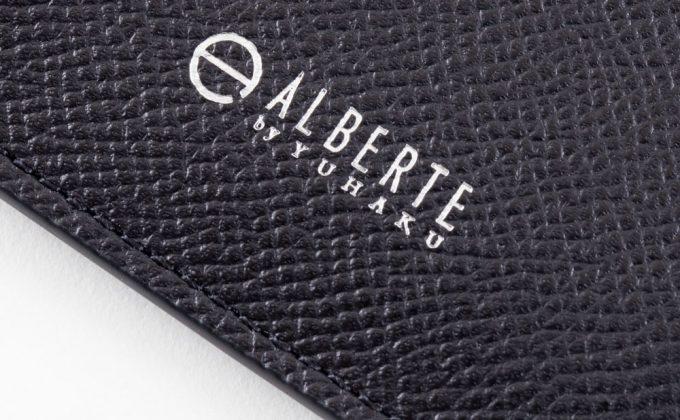 ASB122コンパクト二つ折り財布内装のロゴ