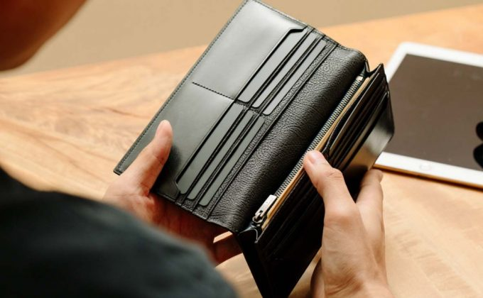 yuhaku・YBR117長財布の収納ポケット
