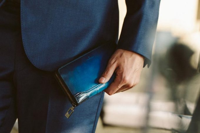 yuhaku(ユハク)・クロコダイルコンビの財布