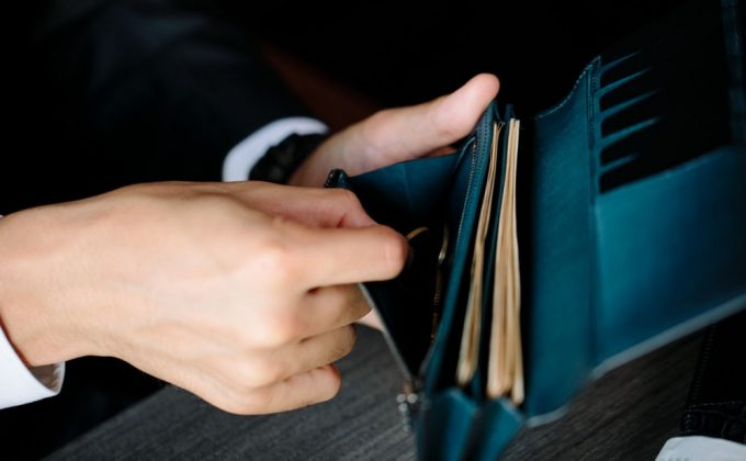 YVE110長財布の収納ポケット