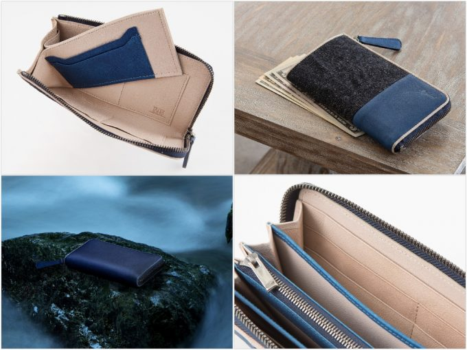 Bluestone(ブルーストーン)のSUKUMOLeather革財布の各種