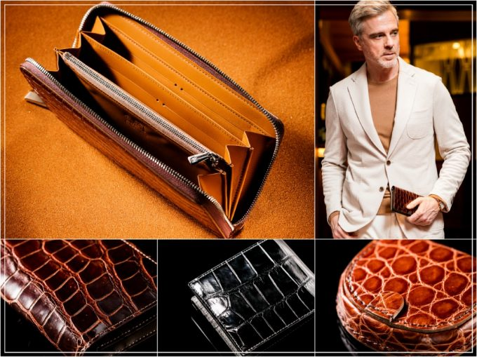 最高品質!ココマイスターのクロコダイル革財布を徹底紹介!