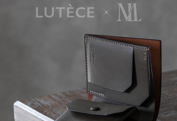 メンズレザーストア限定のリュテスのコンパクトウォレット