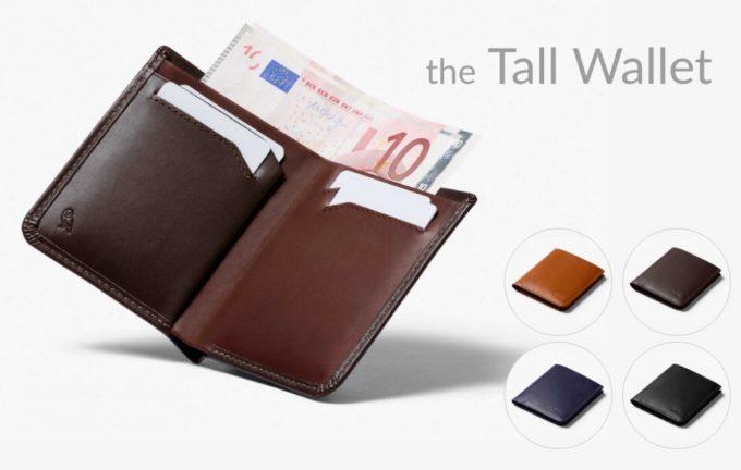 ベルロイ(Bellroy)ザ・トールウォレット(The Tall Wallet)