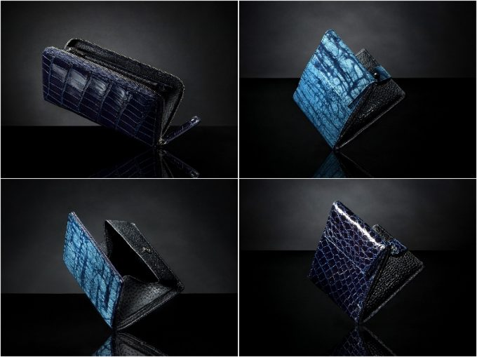 ジュンヤワラシナ・スクモレザーの各種財布