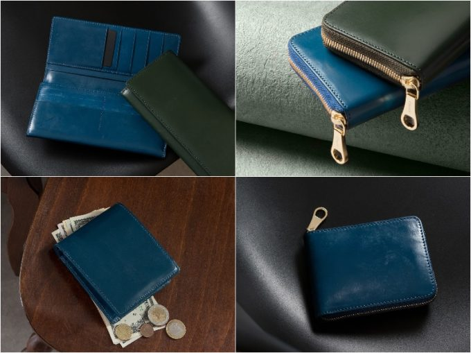 チマブエグレースフル・ブライドルレザーシリーズの革財布各種