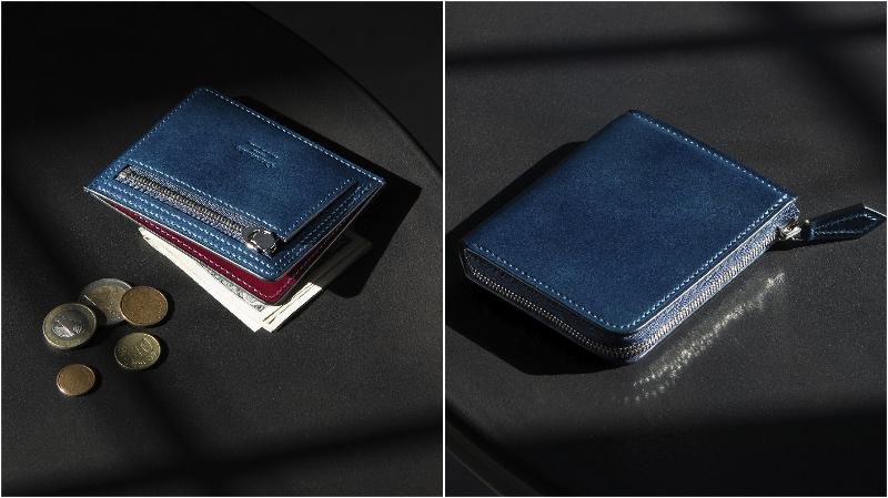 クレバレスコ・アニリン染めコードバンの各種財布