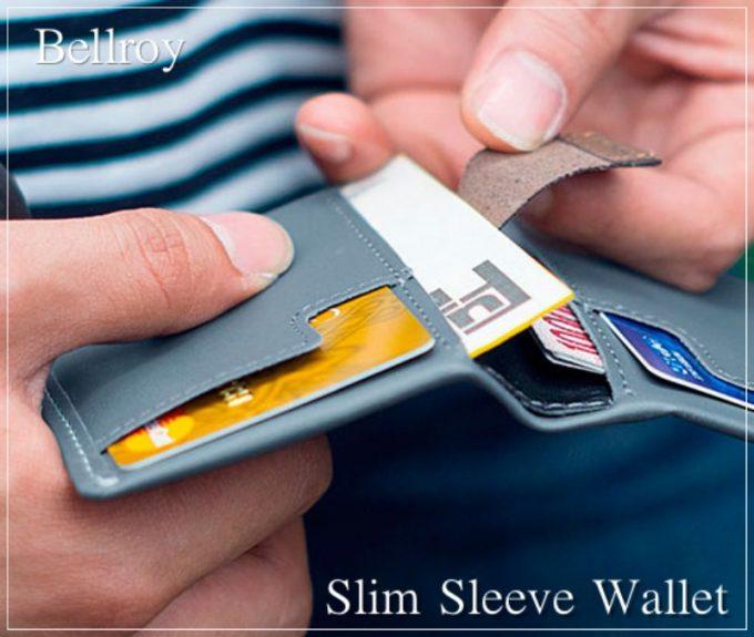 ベルロイスリムスリーブウォレット(Bellroy Slim Sleeve Wallet)