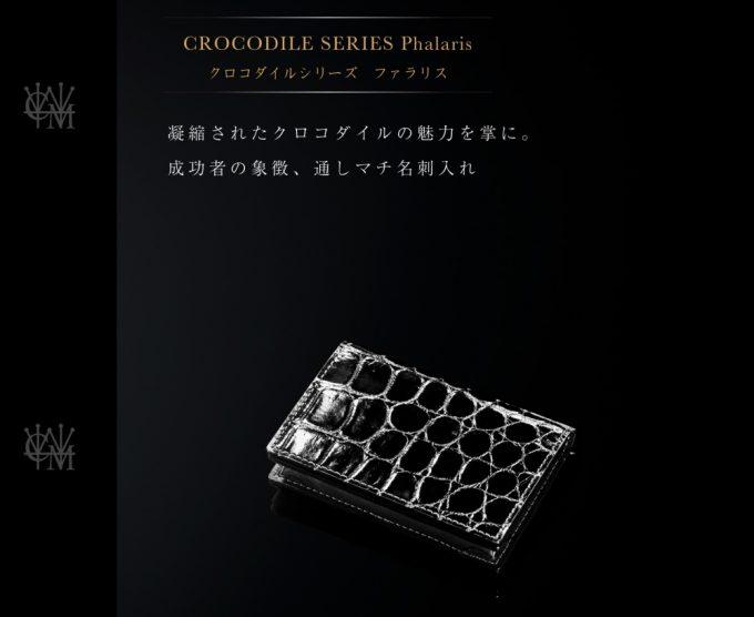 ココマイスター・クロコダイルファラリス(スモールクロコ)