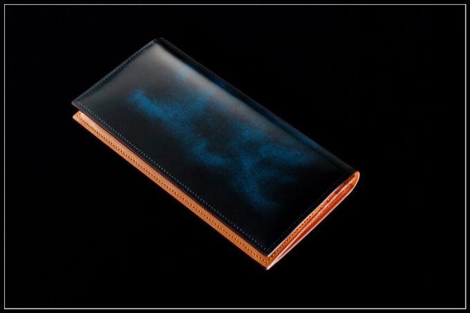 フェソン・アドバンレザーの財布(アンティークブルー)
