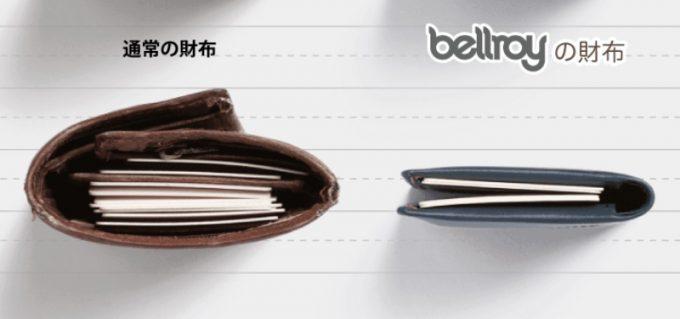 キャッシュレスに最適なベルロイと他ブランドの財布との比較